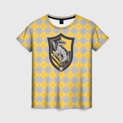 Wizarding World Женская футболка 3D Coat of Hufflepuff в Великом Новгороде