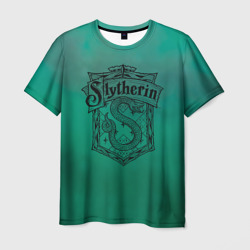 Wizarding World Мужская футболка 3D Coat of Slytherin в Великом Новгороде