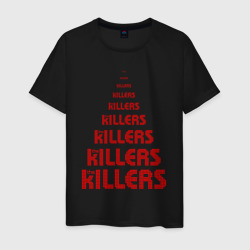 The Killers Logo Red