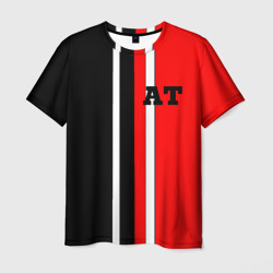 Athletic team red and black