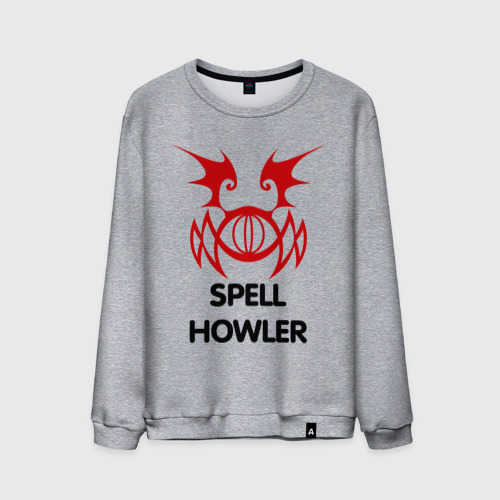 Мужской свитшот хлопок Dark Elf Mage - Spell Howler