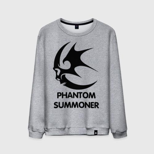 Мужской свитшот хлопок Dark Elf Mage - Phantom Summoner