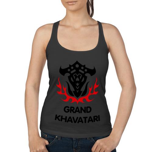 Женская майка борцовка Orc Fighter - Grand Khavatari