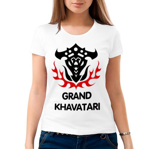 Женская футболка хлопок  Фото 03, Orc Fighter - Grand Khavatari