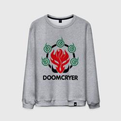 Мужской свитшот хлопокOrc Mage - Doomcryer