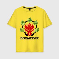 Женская футболка хлопок OversizeOrc Mage - Doomcryer