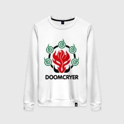 Женский свитшот хлопокOrc Mage - Doomcryer