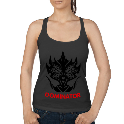 Женская майка борцовка Orc Mage - Dominator