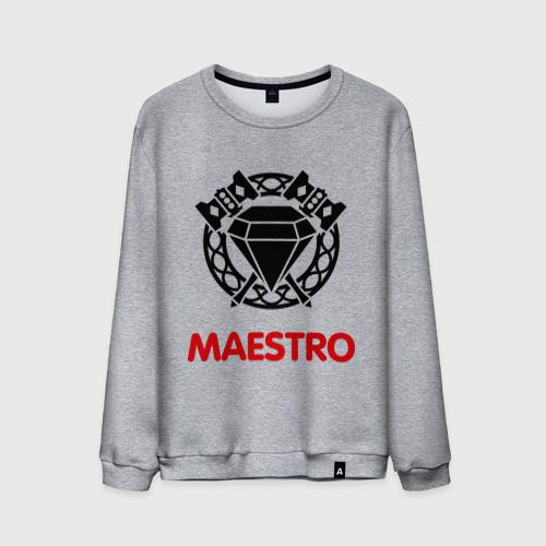 Мужской свитшот хлопок Dwarf Fighter - Maestro