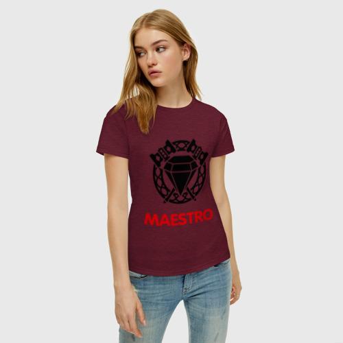 Женская футболка хлопок Dwarf Fighter - Maestro Фото 01