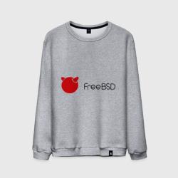 Мужской свитшот хлопокFree BSD