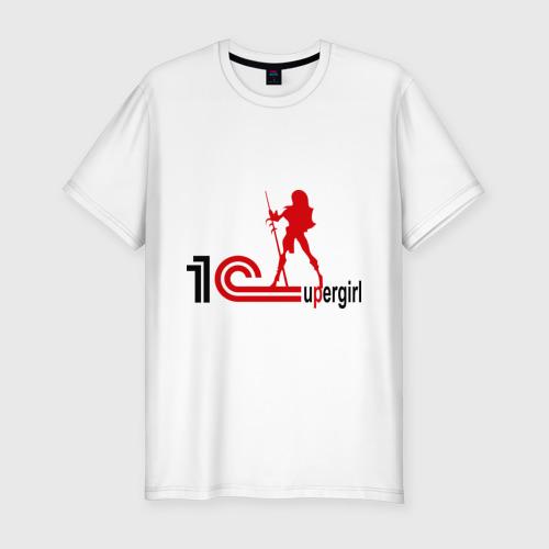 Мужская футболка премиум  Фото 01, 1C SuperGirl (3)