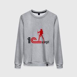 Женский свитшот хлопок1C SuperGirl (3)