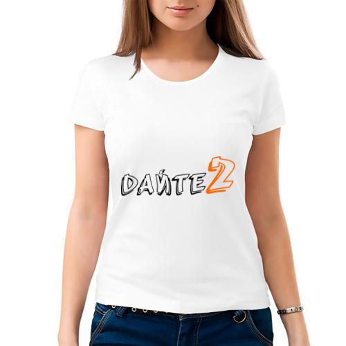 Женская футболка хлопок  Фото 03, Дайтедве (1)