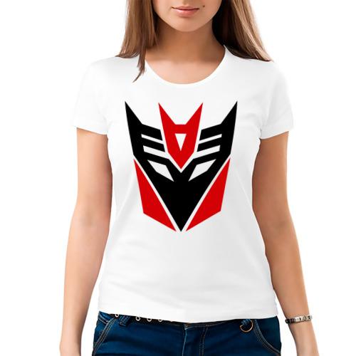 Женская футболка хлопок  Фото 03, Десептиконы