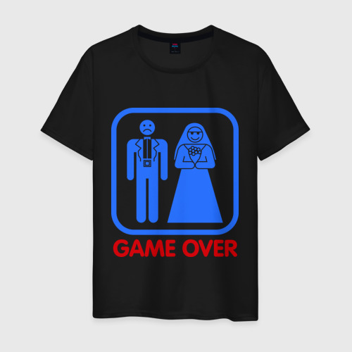 Мужская футболка хлопок Game over Фото 01