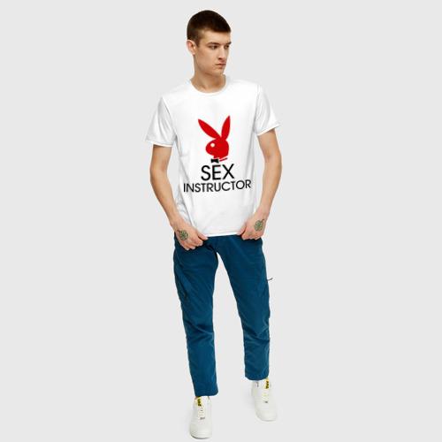 Мужская футболка хлопок Sex Instructor Фото 01