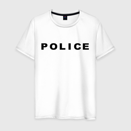 Мужская футболка хлопок POLICE