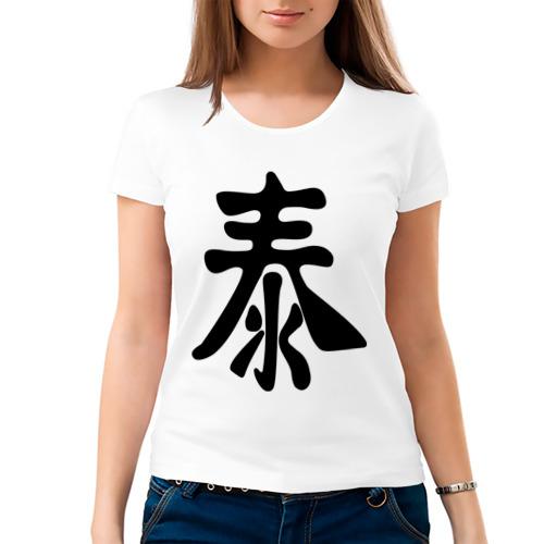 Женская футболка хлопок  Фото 03, Рассвет