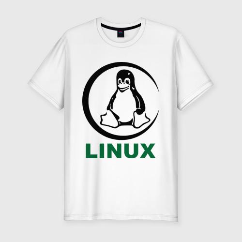 Мужская футболка премиум  Фото 01, Linux