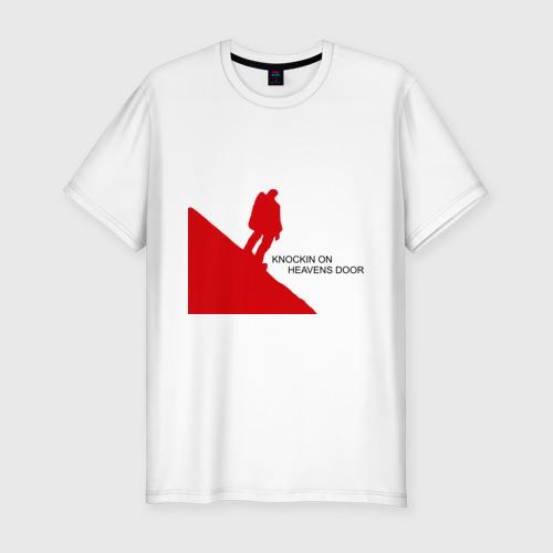 Мужская футболка премиум  Фото 01, Достучаться до небес
