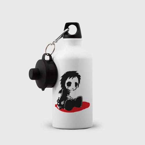 Бутылка спортивная  Фото 03, ЭМО грустный