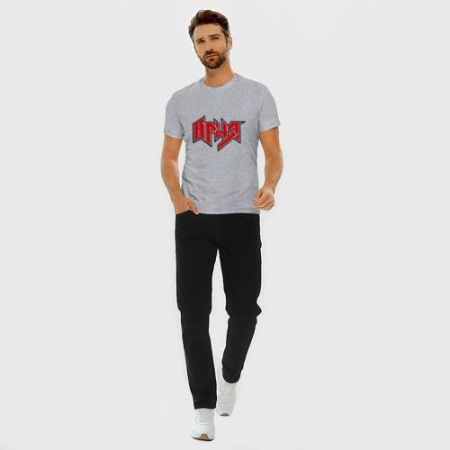 Мужская футболка хлопок Slim Ария Фото 01