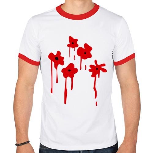 Мужская футболка рингер  Фото 01, Расстрел