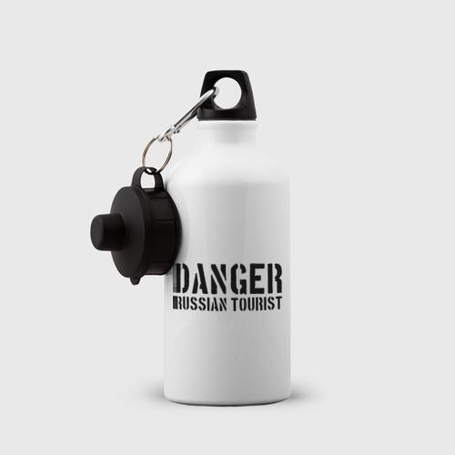 Бутылка спортивная  Фото 03, Danger Russian Tourist