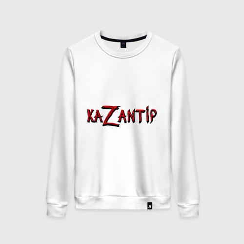 Женский свитшот хлопок KaZantip Фото 01