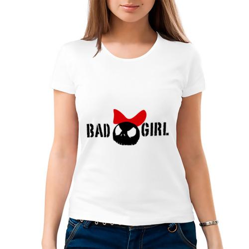 Женская футболка хлопок  Фото 03, Bad girl