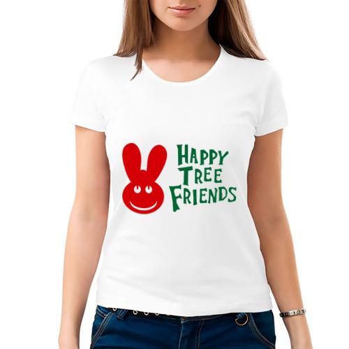 Женская футболка хлопок  Фото 03, Happy Tree Friend