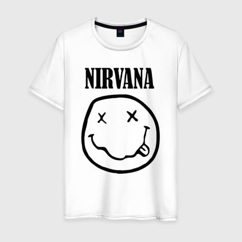 Мужская футболка хлопок Nirvana