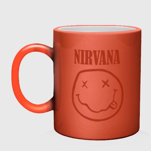 Кружка хамелеон  Фото 02, Nirvana