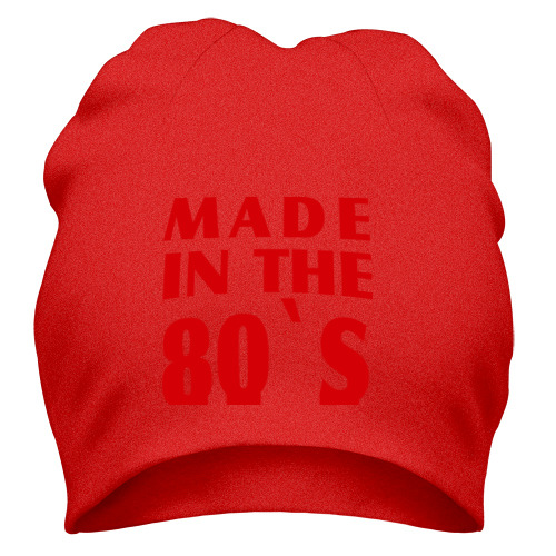 Шапка Made in the 80s