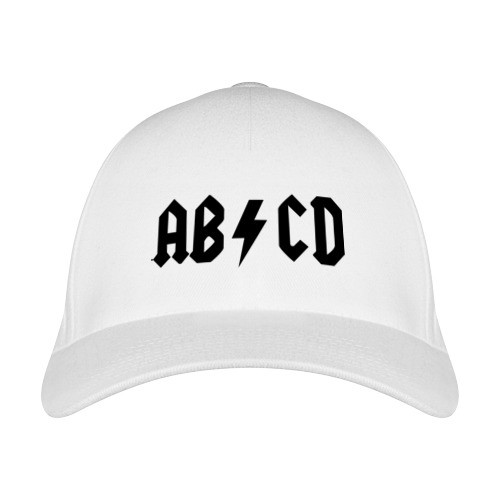 Бейсболка ABCD от Всемайки