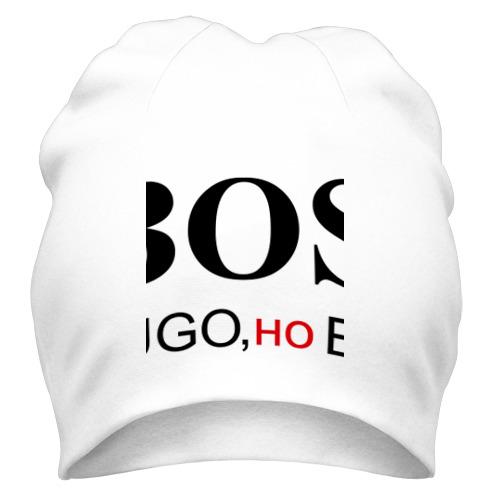 Шапка не HUGO но BOSS от Всемайки