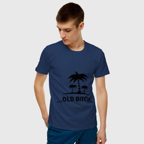 Мужская футболка хлопок Старый пляж Фото 01