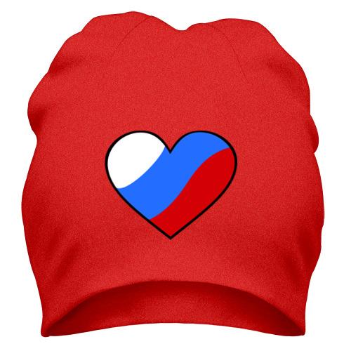 Шапка Российское сердце