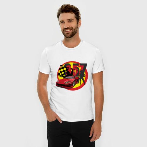 Мужская футболка премиум  Фото 03, 357 Auto