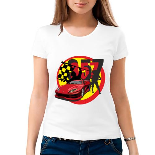 Женская футболка хлопок  Фото 03, 357 Auto