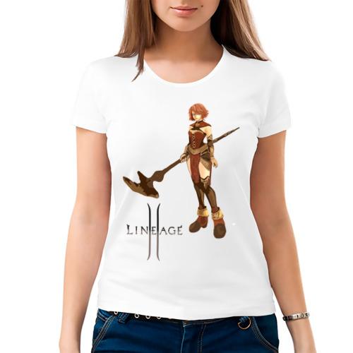 Женская футболка хлопок  Фото 03, Human Mage l2