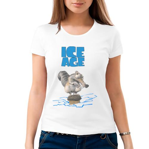 Женская футболка хлопок  Фото 03, Ice Age (2)