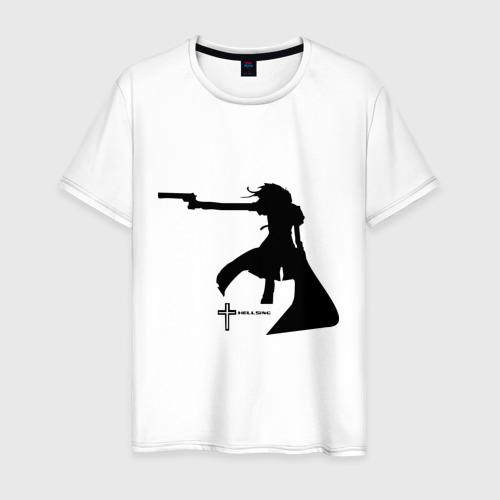 Мужская футболка хлопок Hellsing (4)