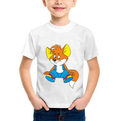 Детская футболка синтетическая Вук