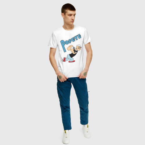 Мужская футболка хлопок Popeye Фото 01