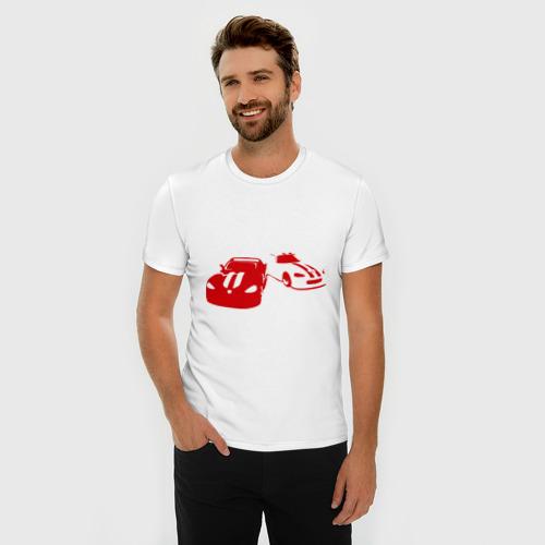 Мужская футболка премиум  Фото 03, Тачки