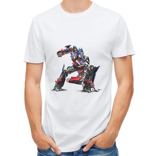 """Мужская футболка синтетическая """"Optimus"""" - 1"""