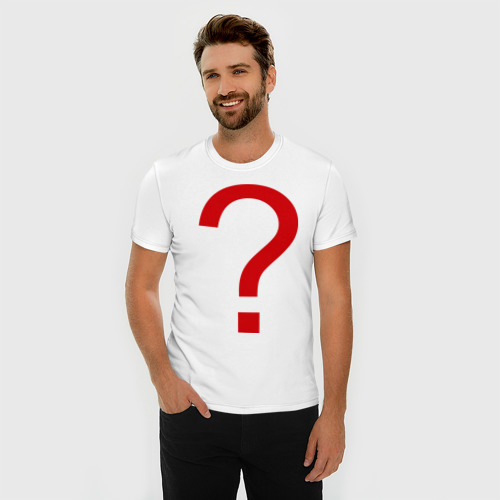 Мужская футболка премиум  Фото 03, Вопрос