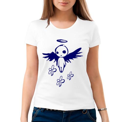 Женская футболка хлопок  Фото 03, Ангел (2)
